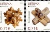 Europos šalys pašto ženklais pristatys senovinius žaislus
