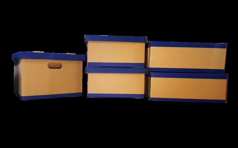Profesionali gofruoto kartono dėžių gamyba