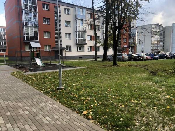 Klaipėdoje Rumpiškės kvartalo tvarkymo darbai: trečdalis jau padaryta