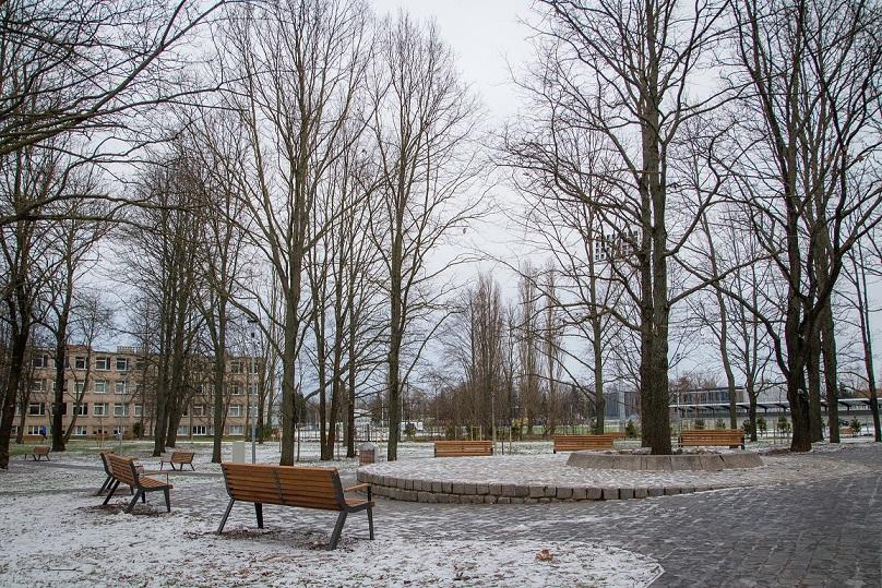 Baigtas Ąžuolyno giraitės sutvarkymas Klaipėdoje
